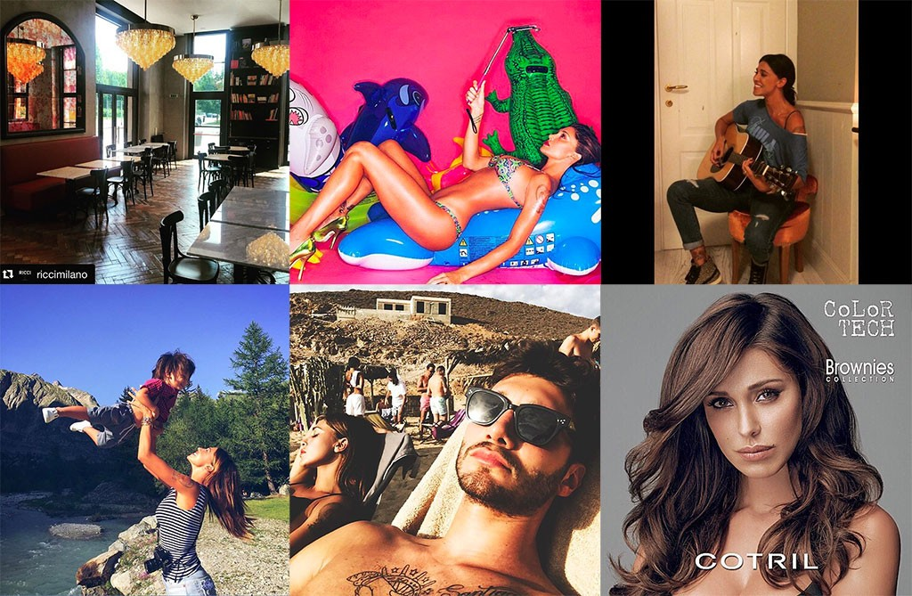 Dal profilo Instagram di Belen: uno scorcio della sua vita perfetta, mamma, modella, imprenditrice e molto di più!