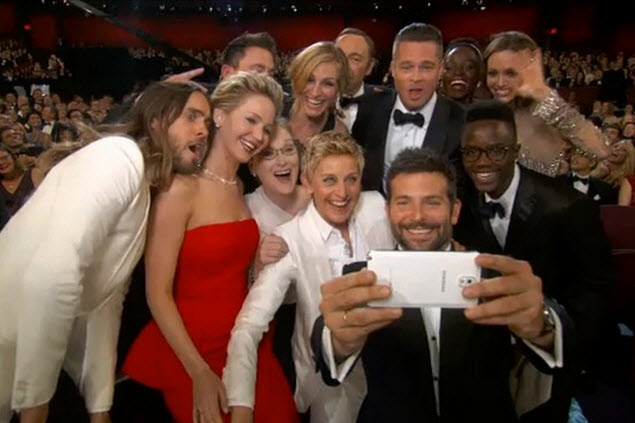 The famous Oscar Selfie of last edition