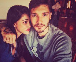 Belen e Stefano de Martino quando ancora stavano insieme. Fonte: Instagram.