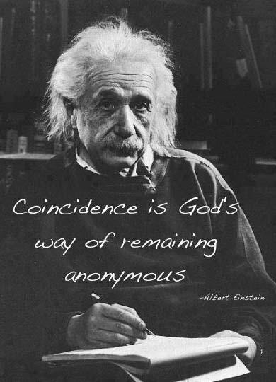 Coincidenza Albert Einstein