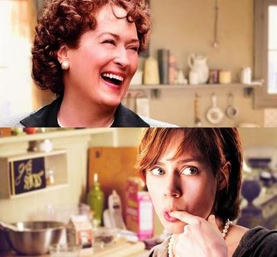 Le due protagoniste del film julie-julia: Meryl Streep e Amy Adams