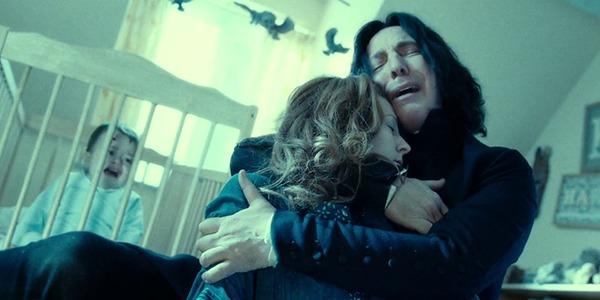 Severus Snape interpreted by Alan Rickman