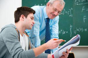 professori studenti e scuola, educazione
